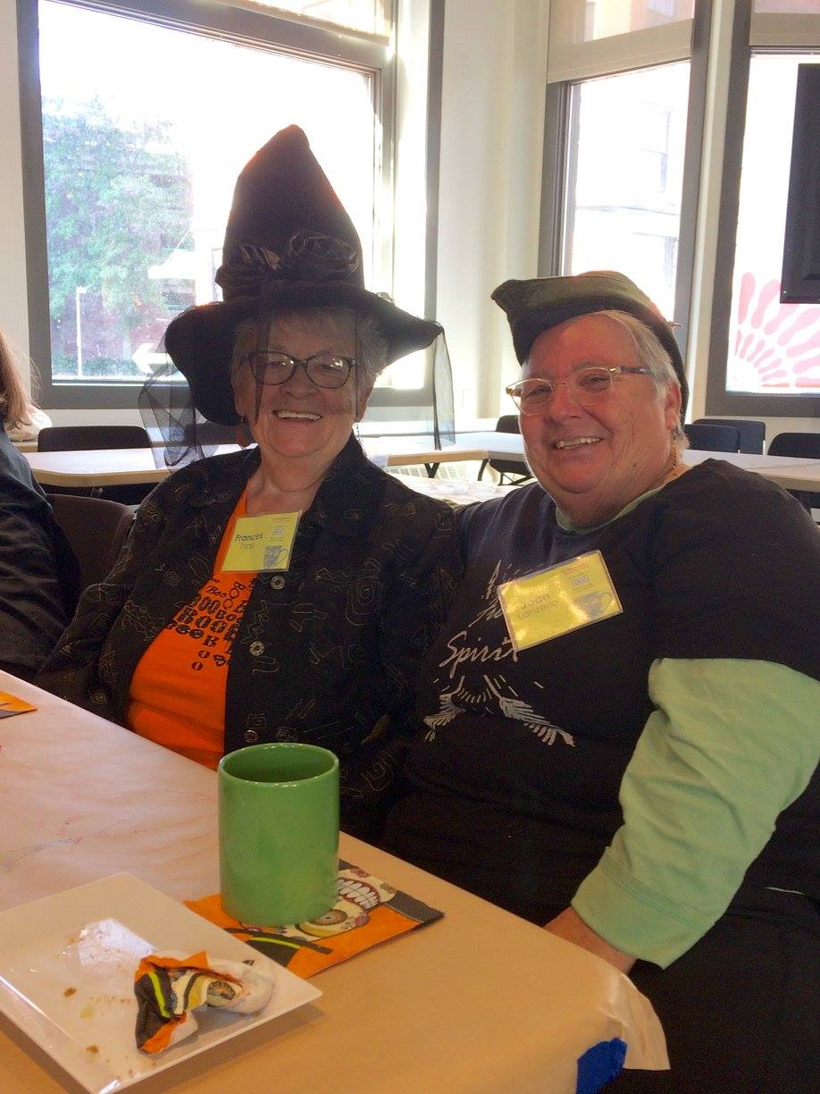 Halloween Hats at the Memory Cafe